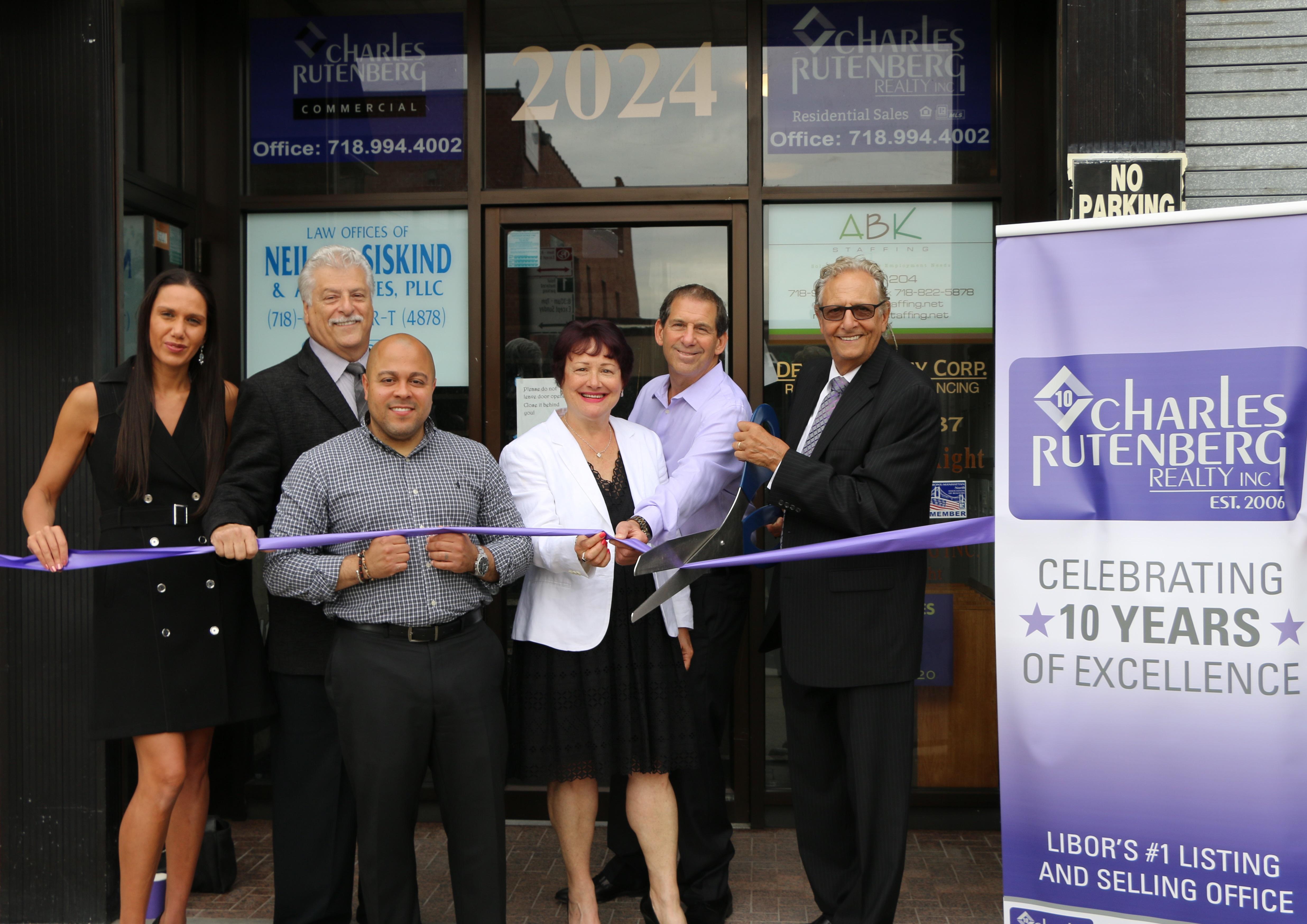 Charles Rutenberg Bronx Opening